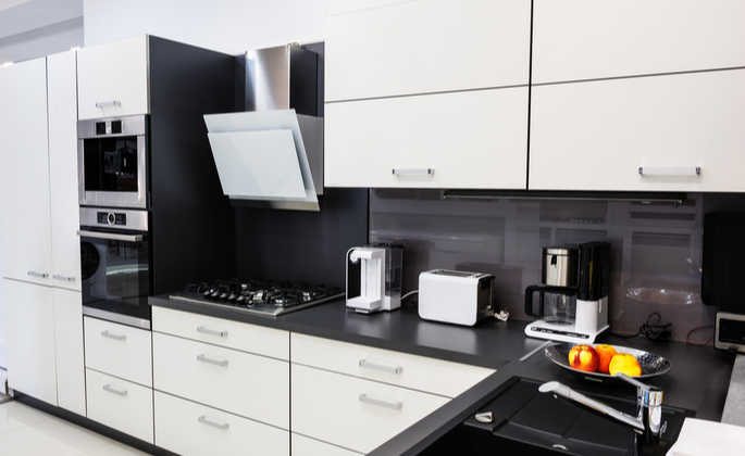 Cozinha tecnológica e moderna - CIMA