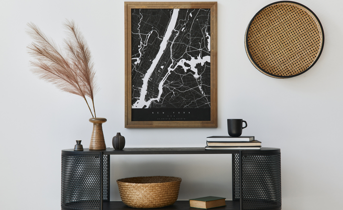 o uso de quadros na decoração de ambientes - CIMA