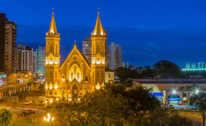 Igreja do bairro cabral em Curitiba